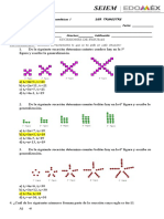 examen de matematicas sucesiones 1920