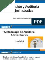 Unidad 4_Evaluación y Auditoría Administrativa