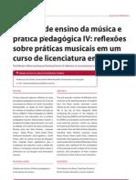 Didática de ensino da música