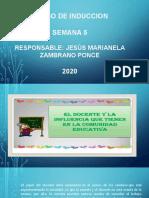 INDUCCION TAREA  ESCUELA Y COMUNIDAD