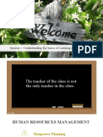 Session 1 Introduction to Training and Development 8th June for students