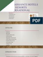 Renaissance Hotels and Resorts International  presentation.pptx