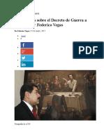 DECRETO DE GUERRA A MUERTE
