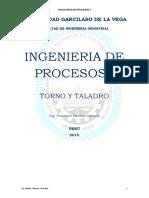(d) LABORATORIO PROCESOS I 2015 TORNO