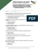 1-Balotario de Preguntas - Formulación y Evaluación de Proyectos de Inversión I