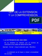 V. Ley de la extension y la comprehension; y Arbol de Porfirio..ppt