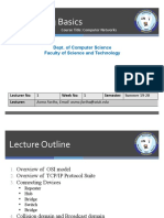 Lecture 1 Networking Basics