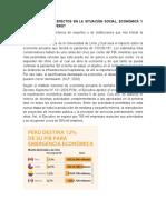 EL IMPACTO DEL COVID EN LA ECONOMIA MUNDIAL