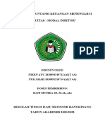 EKUITAS MODAL DISETOR (Kelompok 3)