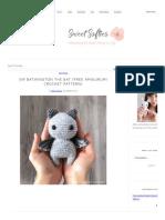 Sir Batwington the Bat (Free Amigurumi Crochet Pattern) - Sweet Softies _ Amigurumi and Crochet.pdf