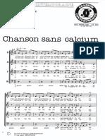 """LES FRÈRES JACQUES """"Chanson sans calcium"""""""