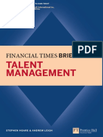 (Financial Times Series) Stephen Hoare, Andrew Leigh - Talent Management_ Financial Times Briefing-Financial Times_ Prentice Hall (2011).pdf