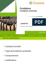ENPC 2020 - FONDATIONS PROFONDES