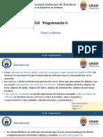 Unidad I Introducción Clases y Objetos