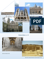 Estilos Templos Cristianos Mundo épocas