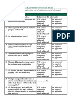 Rapid Critical Appraisal (RCT)