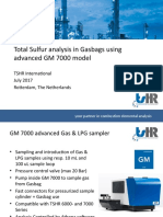 GM 7000 Advanced Gasbag & Gas-LPG analysis