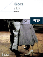 eBook Andre Gorz - Lettre a D.