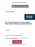 The Financial Flows of the Transnational Crime