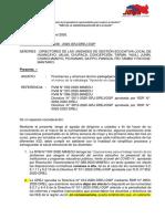 OFICIO PRECISIONES-1 DIRECTIVA 012-2020
