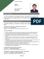 CV of Gautamkumar Maheta