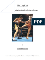 The Leg Kick - A Guide for Devastating Low Kicks in MMA and Muay Thai