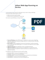 Configure Python WebApp