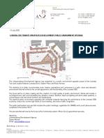 20200701_Media Release_Lenasia CBD Public Environment Upgrade_Amended