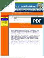 Analog & Digital - Oscilloscope Tutorial - Electronic Circuits & Tutorials R