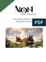 PatchNotes AION 4.7