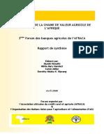 financement de la chaîne de valeur agricole de l'Afrique 38 pages pdf