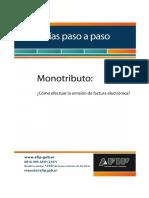 Manual Factura electrónica[2021]