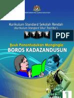 Buku Panduan Guru Kadazandusun Toun 1 KSSR