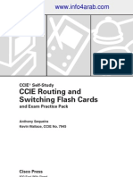 CCIE Routing and Switching Flash Card