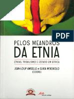 AMPSELLE, Jean-Loup. M'BOKOLO, Elikia. Pelos meandros da etnia. Ramada, Pedago, 2014.pdf