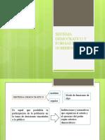 SISTEMA DEMOCRATICO Y FORMAS DE GOBIERNO.pptx