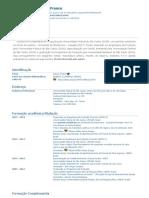 Currículo do Sistema de Currículos Lattes (Denise Franco)