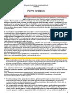 Resumen conceptos de PIERRE BOURDIEU