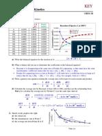 Practice Problems (Chapter 12) Kinetics - KEY-1