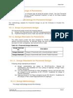 Paavement Design Report