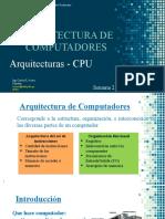 SEMANA 2 - ARQUITECTURA DEL COMPUTADOR, CPU.pptx