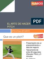 el arte de hacer un pitch julio 2016