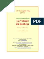 Rank Volonte Du Bonheur