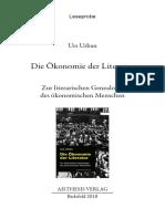 Die Ökonomie der Literatur