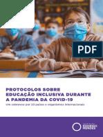 protocolos educação inclusiva durante pandemia