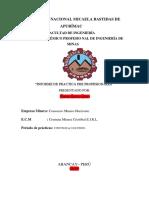 informe de practica SANTOS CHAVEZ CUBA