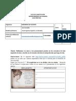 2° guia práctico - Esceptiscismo - Seminario de filosofía