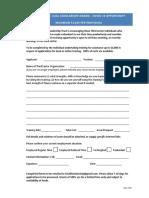 Cummings v Zuill Covid 19 Opportunity Application