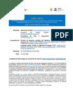 Regulament IPRE Si CRJM