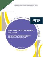 Recommandation Pro Rage Vmc Simple Flux Collectif Reno 2013-02-0